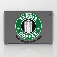 Tardis Coffee iPad Case