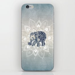 Elephant  Mandala iPhone Skin