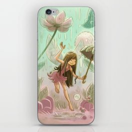 Goblins Drool, Fairies Rule! - Dewdrop Shower iPhone Skin