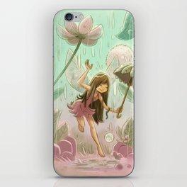 Goblins Drool, Fairies Rule! - Dewdrop Shower iPhone Skin
