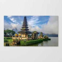 Water Temples of Bali Canvas Print