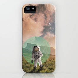 Lost Astronaut - A new Journey iPhone Case