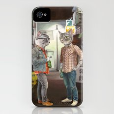 A Cats Night Out Slim Case iPhone (4, 4s)
