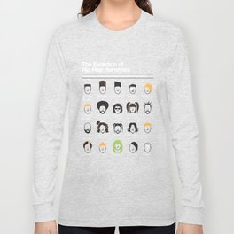 The Evolution Of Hip-Hop Hairstyles Long Sleeve T-shirt