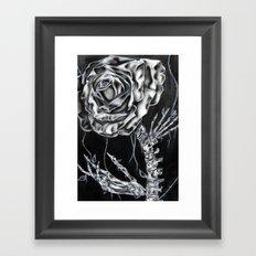 Rose Vertebrae  Framed Art Print
