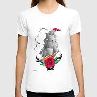 ship T-shirts featuring ship by mark ashkenazi