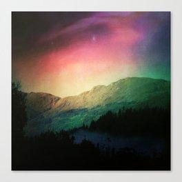 Scottish Mountains Canvas Print