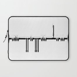 """""""I LOVE YOU"""" in the Ogham Alphabet Laptop Sleeve"""