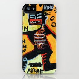 Homage to Basquit New York King iPhone Case
