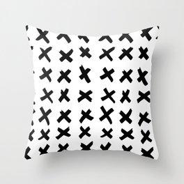 _ X X X Throw Pillow