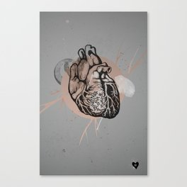 Oh My Heart Canvas Print