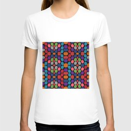 So Much Color Abstract Shapes Multi T-shirt
