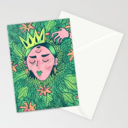 Leaf Goddess Stationery Cards