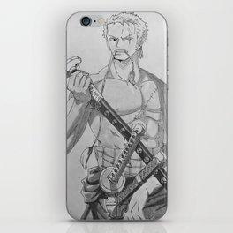 Zoro iPhone Skin