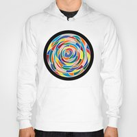 abyss Hoodies featuring Swirling Abyss by Wealie
