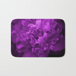 Peony In Ultra Violet Color #decor #society6 #buyart Bath Mat