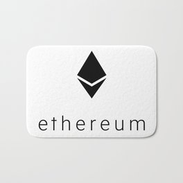 Ethereum Diamond Bath Mat