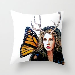Ooh, Bella Donna - Fairy Stevie Nicks Throw Pillow