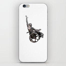 sport on wheels iPhone Skin