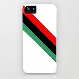 flag of libya 2-Libyan,Tripoli,benghazi,misurata,bayda,cyrenaica iPhone Case