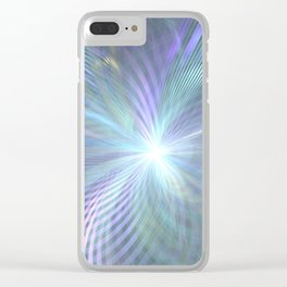 fractal: beginning Clear iPhone Case