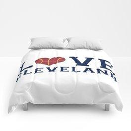 Love Cavs Comforters