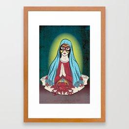 Mary Santos Framed Art Print