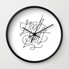 Good Stuff Wall Clock