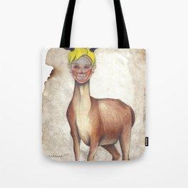 Deer Child Tote Bag
