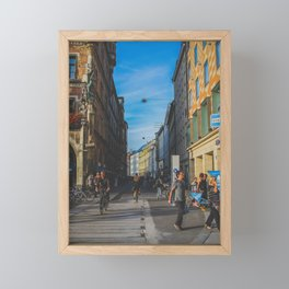 Another Street Framed Mini Art Print