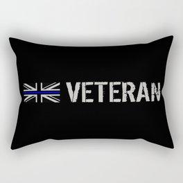 British Police Veteran Rectangular Pillow