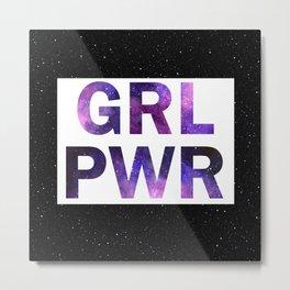 Galxy GRL PWR Metal Print