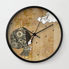 Mais Pequeno Wall Clock