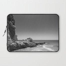 Birds sit on rocks along Rancho Palos Verdes coastline Laptop Sleeve