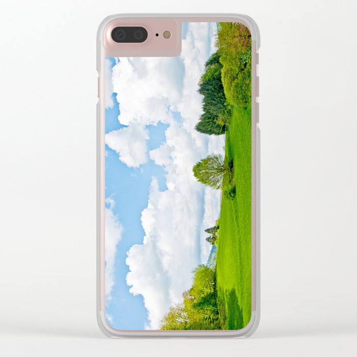 Wonderful spring Clear iPhone Case