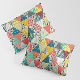 llama geo triangles Pillow Sham