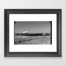 shipwreck Framed Art Print