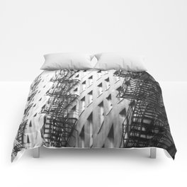 Chicago fire escapes Comforters