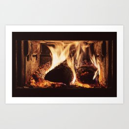 Heat Coma Art Print