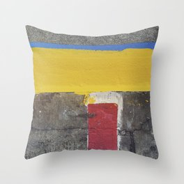 Red Yellow Blue Throw Pillow