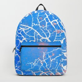 Abstract sea fan coral Backpack