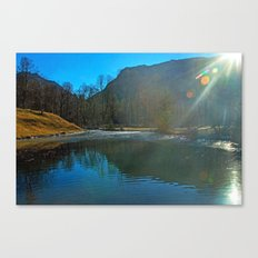 LIGHT PLAY Canvas Print