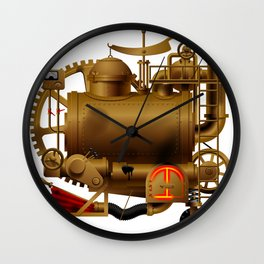 Fantastic machine Wall Clock