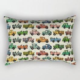 Cars and Trucks Rectangular Pillow