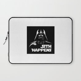 Sith Happens Laptop Sleeve