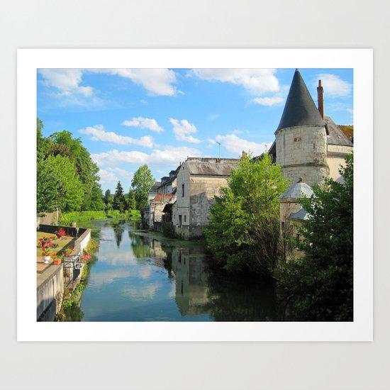 Loches, France Art Print