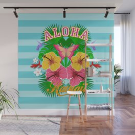 Aloha Hawaii Wall Mural
