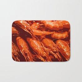 Tasty Langoustines Bath Mat