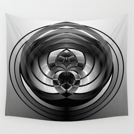 Modern Me Spiral 2 Wall Tapestry