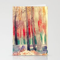 takmaj Stationery Cards featuring Woods by takmaj